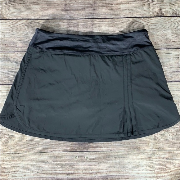 6e2d09880c lululemon athletica Shorts   Lululemon Wet Dry Warm Skort Grey W ...